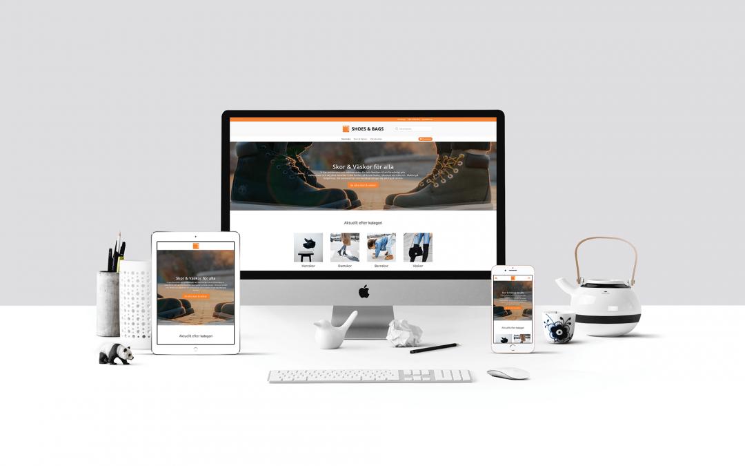 Webbshop till Shoes & Bags